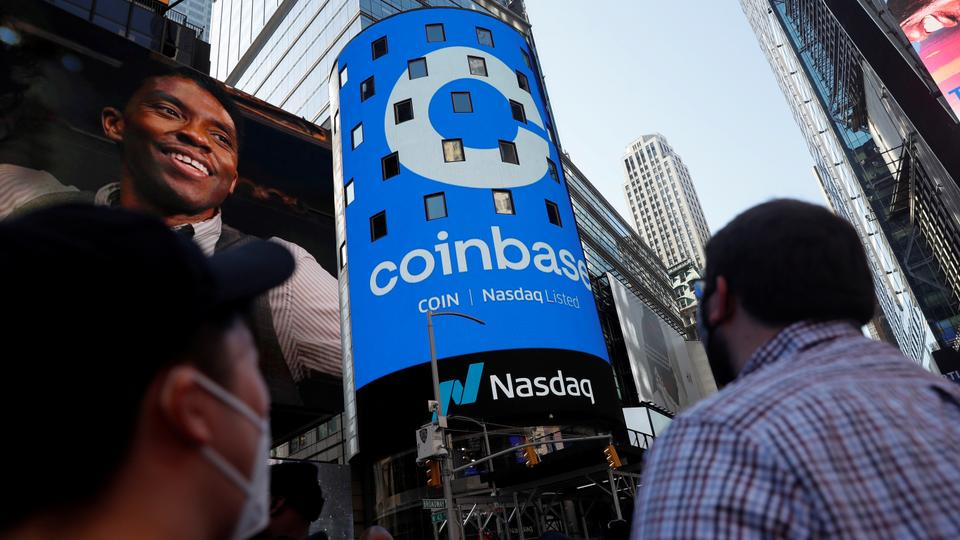 Coinbase insiders dump nearly $5 billion COIN stock on opening day